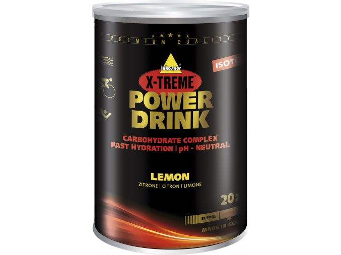 INKOSPOR X-TREME POWER DRINK CITRON 700 G